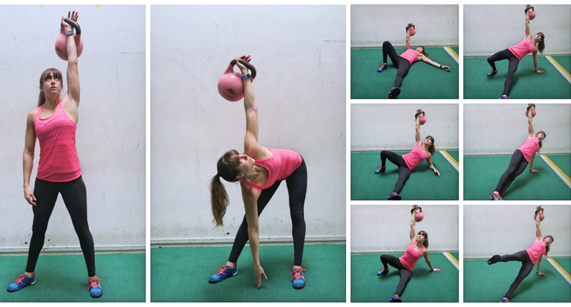 Kettlebell Core Exercises