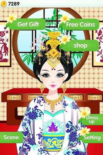古代有佳人 - 王妃時尚秀,女生愛養成,換裝搭配遊戲|玩休閒App免費|玩APPs