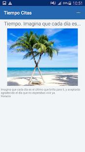 Download Tiempo Citas y frases famosas For PC Windows and Mac apk screenshot 6