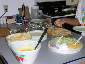 Photo: it's a taco party!