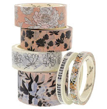 Teresa Collins Washi Tape 6/Pkg - Faves 3