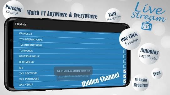 Descargar Livestream TV – M3U Stream Player IPTV para PC ✔️ (Windows 10/8/7 o Mac) 5