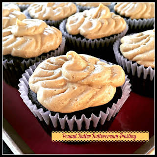 Whipped Peanut Butter Buttercream Frosting (Dairy Free!).