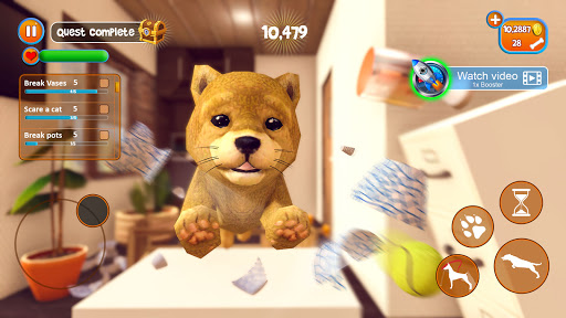 Virtual Puppy Simulator apkdebit screenshots 2
