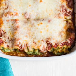Pesto Lasagna Roll-Ups