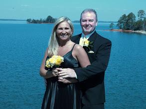 "Photo: ""Damn Wedding"" atop Hartwell damn with wonderful lake vistas of   beautiful Lake Hartwell -  3/10  ~ http://WeddingWoman.net ~"