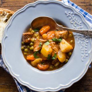 Chunky Thick Italian Beef Stew