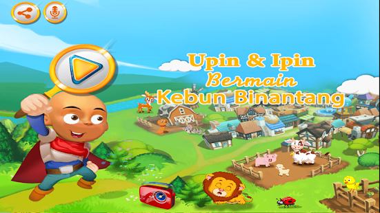 Upin ipin bermain kebun binatang android apps on google play upin ipin bermain kebun binatang screenshot thumbnail stopboris Image collections
