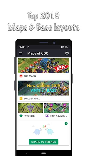 Download Maps of Clash Of Clans APK latest version App by