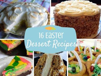 16 Easter Dessert Recipes