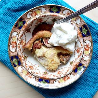 Fig, Tahini + Honey Cake.