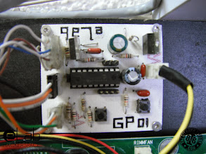 Photo: eLab Hackerspace GSM Access Control System - PIC16F88 Control Board