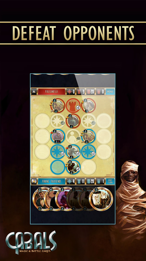Cabals: Magic & Battle Cards- screenshot