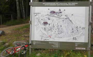 Photo: Схема горы Секирной