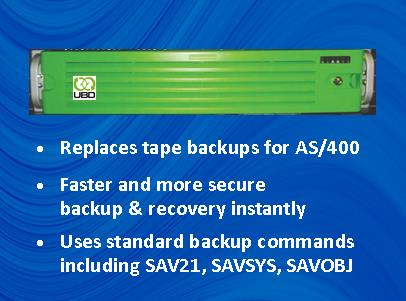 AS400 Virtual Tape Backup Solution