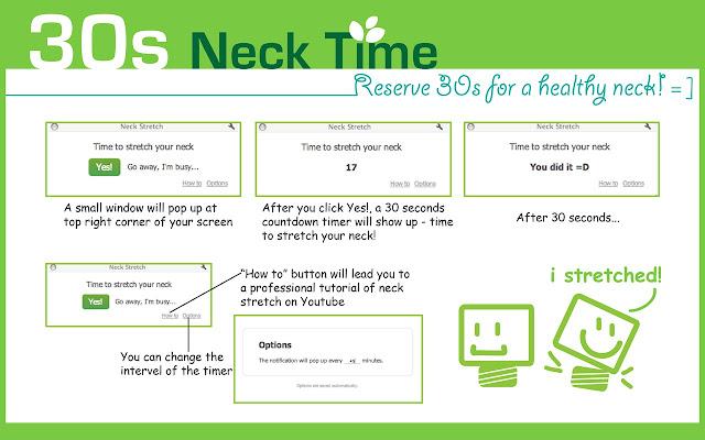 30s Neck Stretch