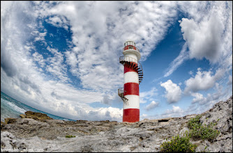 Photo: Lighthouse on a way to paradise   So.. again, a lighthouse. Like I said before, I've got hundreds views of it, and there is no way we can stop pulling them out:-)  3RAW exposures, assembled in Photomatix Pro 4 and tuned in Photoshop. Canon 5D MkII + Fisheye 8-15mm F4.0L lens. The lens is a king of spectacular sky:-)