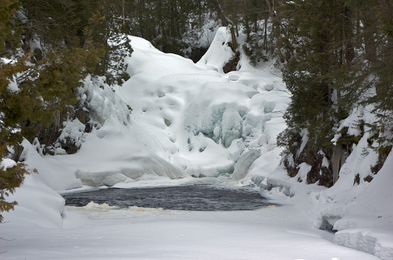 "Photo: Winter view ""Little Falls"""