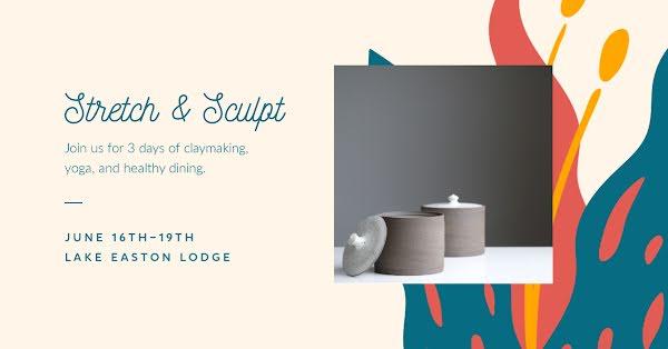 Stretch & Sculpt - Facebook Event Cover Template