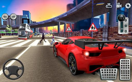 City Driving School Simulator: 3D Car Parking 2019 screenshots 2