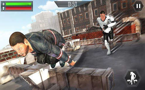 Mad City Rooftop Police Squad: Real Gangster Chase- screenshot thumbnail