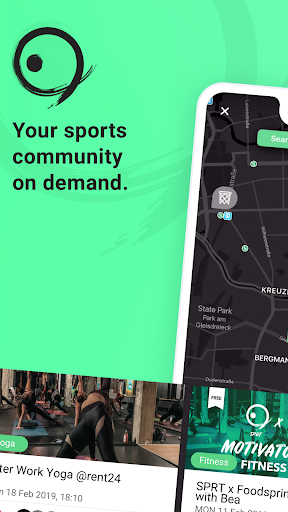 SPRT - Your sports community on demand - screenshot