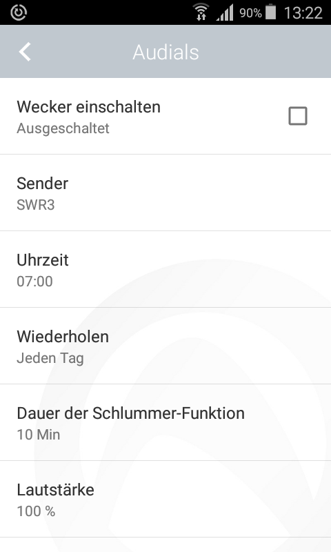 Radio Player von Audials – Screenshot
