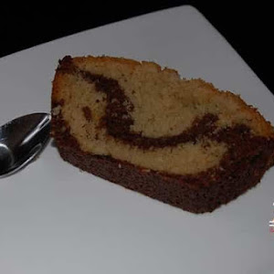 Chocolate Coconut Marble Cake