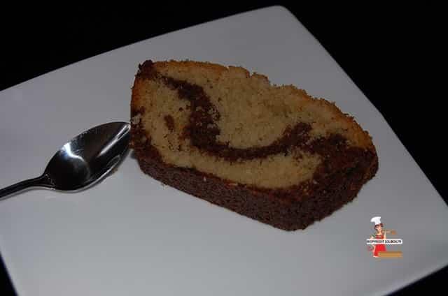 Chocolate Coconut Marble Cake Recipe