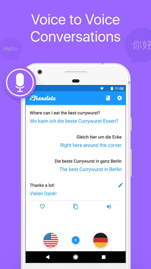 iTranslate - Language Translator & Dictionary – zrzut ekranu