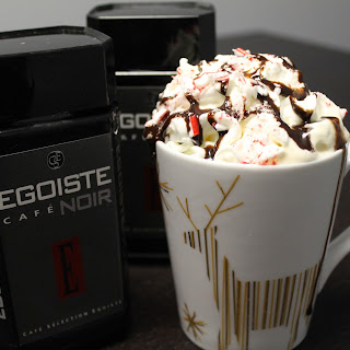 Holiday-inspired Peppermint Mocha Latte