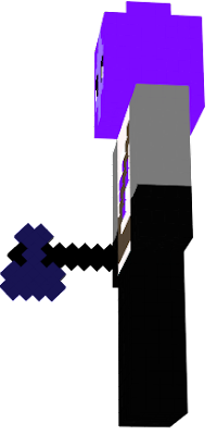 A mysterious purple knight emerging from the shadows