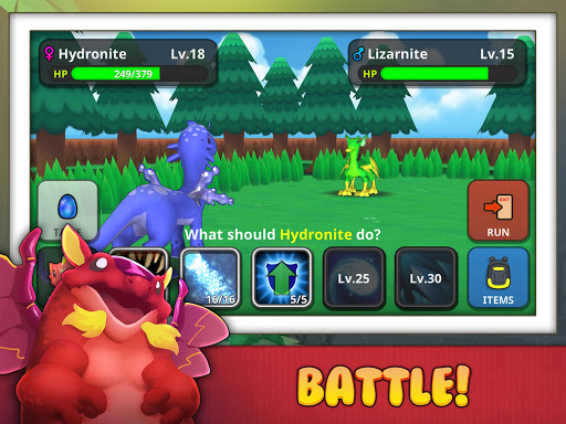 Drakomon - Battle & Catch Dragon Monster RPG screenshot 5