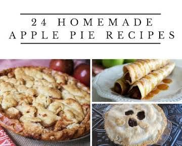 24 Homemade Apple Pie Recipes