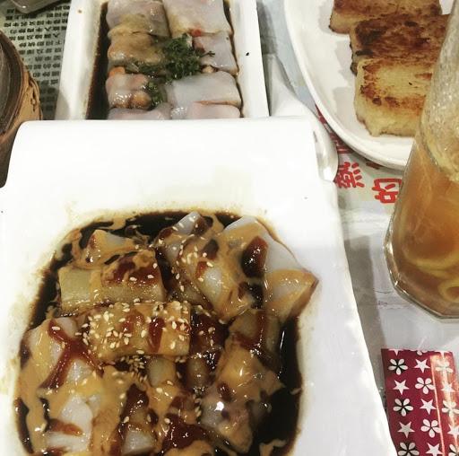 老闆跟我一樣是香港人,這道豬腸粉味道令人懐念Hk