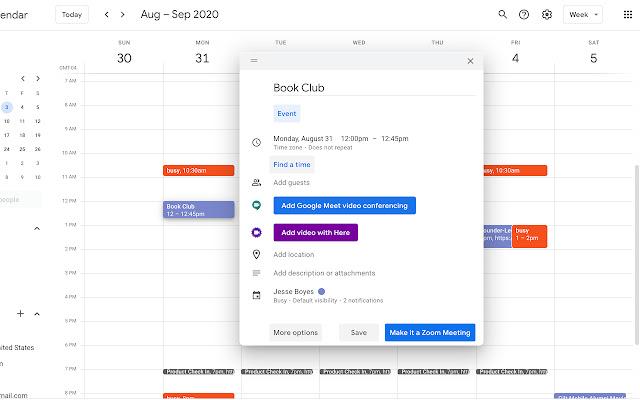Here Calendar