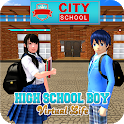 High School Boy Virtual Life icon