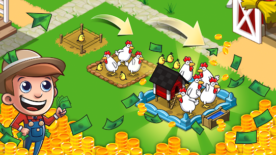 Idle Farming Empire MOD (Unlimited Coins) 3