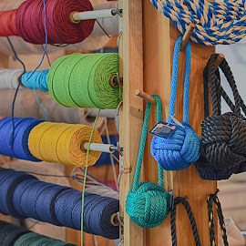 Knot Factory by Lorraine D.  Heaney - Artistic Objects Other Objects