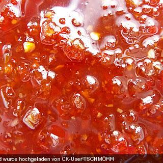 Süß - sauer - scharfe Sauce