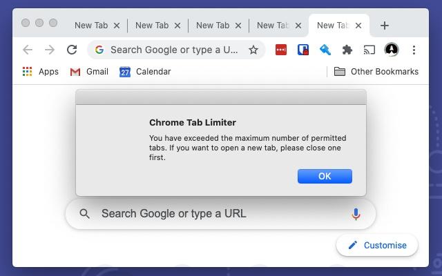 Chrome Tab Limiter