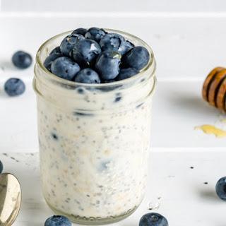 21 Day Fix Blueberry Overnight Oats Recipe