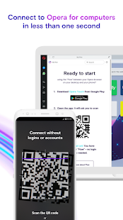 Opera Touch: the fast, new browser with Flow Screenshot