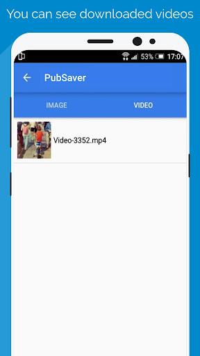 Pubsaver - Video Photo Downloader - for Instagram 2.0.5 screenshots 7