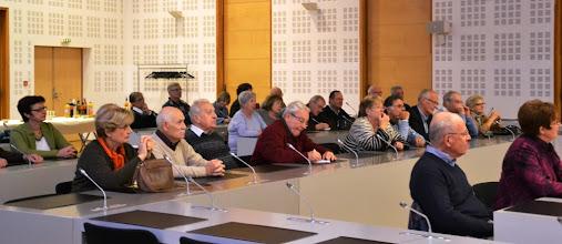 Photo: 7- Le public pendant la conférence