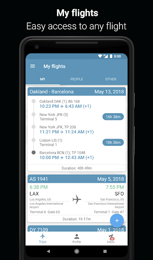 App in the Air - Travel planner & Flight tracker 4.0.9 screenshots 7