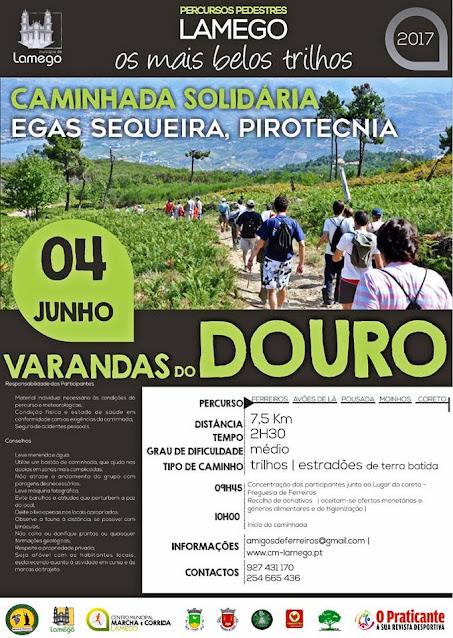 """Caminhada """"Varandas do Douro"""" recolhe donativos"""