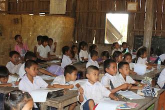 Photo: Laos Reisen, Schule Don Det