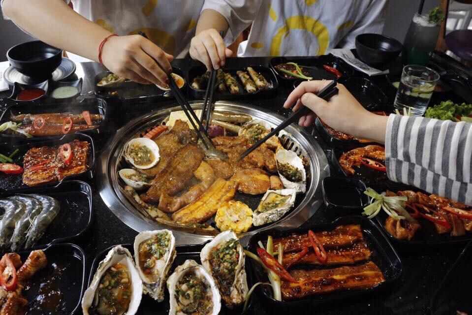 Ăn Buffet  lẩu nướng view hồ Tây cực sang chảnh với giá chỉ 269k tại nhà hàng Ohcha - Ảnh 5