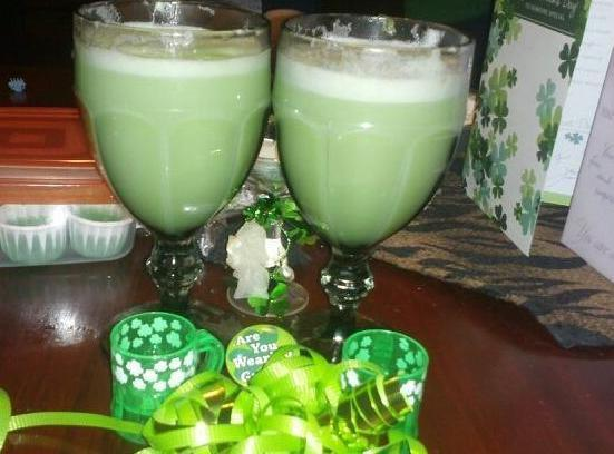 Leprechaun Cilantro Lime Punch Recipe
